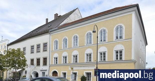 В родната къща на Адолф Хитлер в австрийския град Браунау