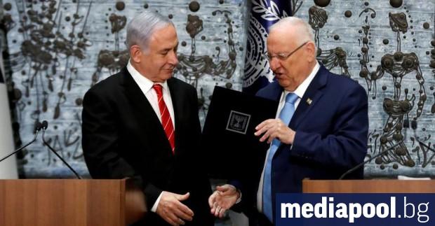Президентът на Израел Реувен Ривлин възложи официално на парламента да
