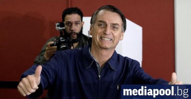 Президентът на Бразилия Жаир Болсонаро е написал във вторник молба