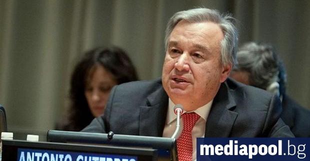 Генералният секретар на ООН Антониу Гутериш заяви, че пленените в