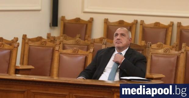 Борисов се появи в парламента, за да отговори на въпрос