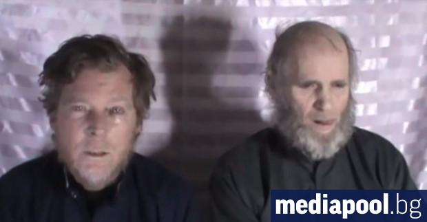 Талибаните казаха, че са освободили американец и австралиец като част