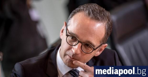 Германският министър на външните работи Хайко Маас изрази принципната си