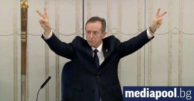 Томаш Гродски от опозиционната центристка Гражданска коалиция бе избран за