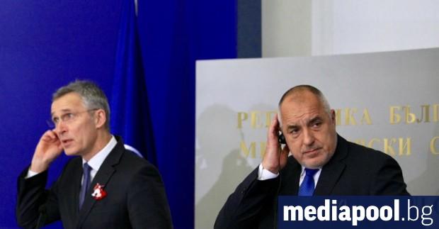 Премиерът Бойко Борисов пое ангажимент пред генералния секретар на НАТО