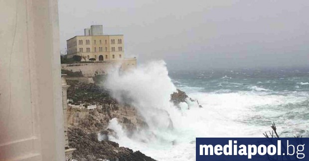 Италианското правителство обяви извънредно положение заради лошото време в редица