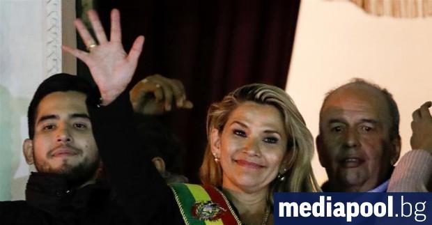 Боливийската сенаторка Янине Анес, която е от опозицията, се обяви
