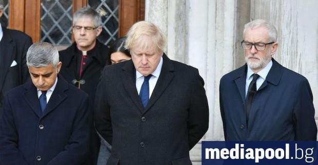 Британският премиер Борис Джонсън и лидерът на опозиционната Лейбъристка партия