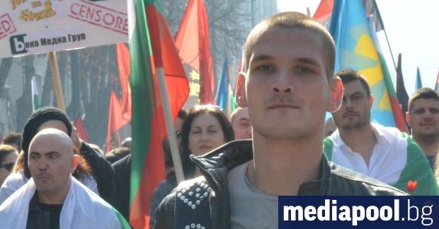 Осъждан за криминални престъпления е бил част от протеста в