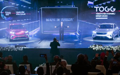 Ердоган представи първия турски електрически автомобил