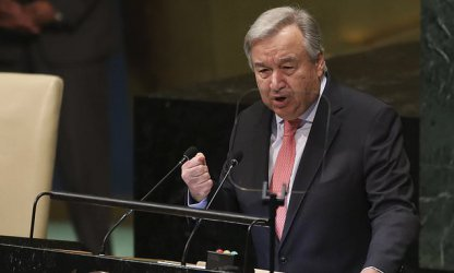 Гутериш призова за по-справедливо решение на кризата с разселените