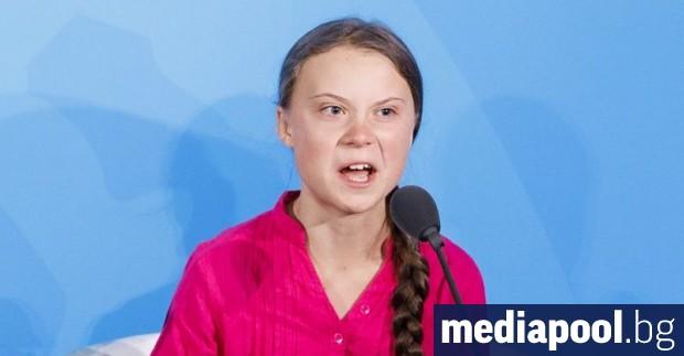 Шведската екоактивистка Грета Тунберг призова британците да не забравят за