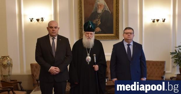 Патриарх Неофит е приел настоящия и бъдещия главен прокурор Сотир