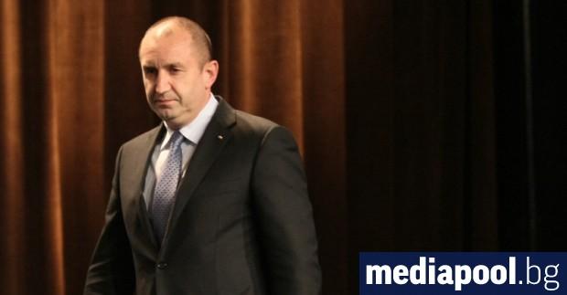 Президентът Румен Радев обяви в сряда, че ще се възползва