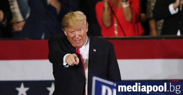 Президентът на САЩ Доналд Тръмп коментира, че вижда в смазващата