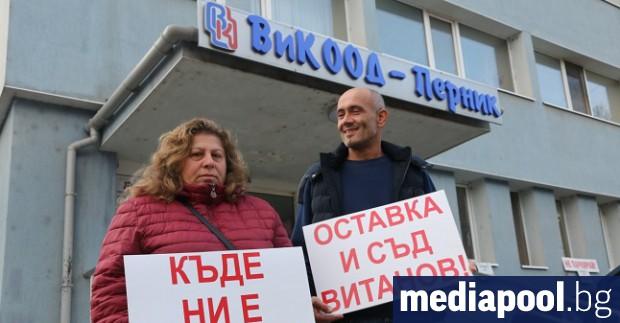 Регионалният министър Петя Аврамова и министърът на околната среда Нено