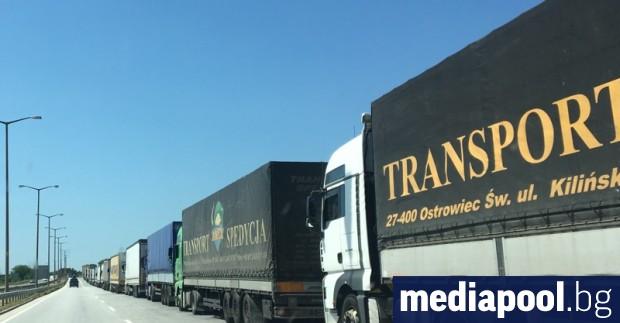 Връщането на камионите в страната на регистрацията и почивката на