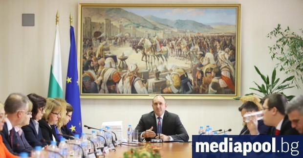 Президентът Румен Радев настоя за по-тежки санкции срещу корпоративния и
