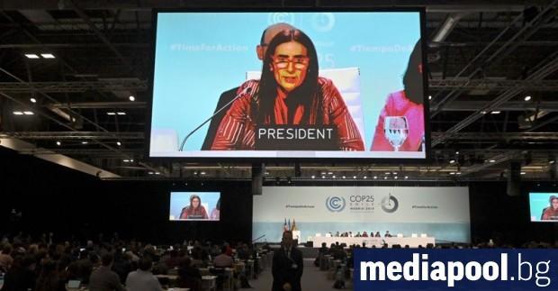 Маратонските климатични преговори в Мадрид приключиха в неделя без споразумение