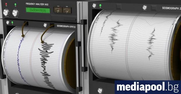 Снимка: Земетресение с магнитуд 4.5 край гръцкия остров Крит