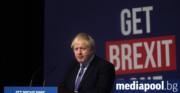 Консервативната партия на премиера Борис Джонсън спечели убедителна победа на