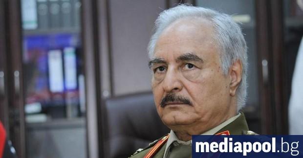 Либийската национална армия (ЛНА) на маршал Халифа Хафтар предупреди, че