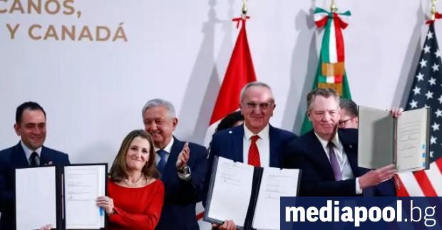 Камарата на представителите на САЩ одобри новото търговско споразумение с