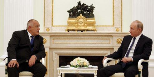 """Борисов към Путин за """"Турски поток"""": Строим по 5 км дневно"""