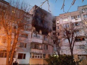 Две жертви и ранени при мощен взрив в жилищен блок във Варна