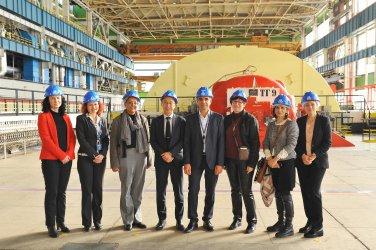 Мисия на Агенцията за ядрено регулиране у нас заради кандидат-членството на България