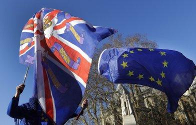 Великобритания напуска ЕС в полунощ