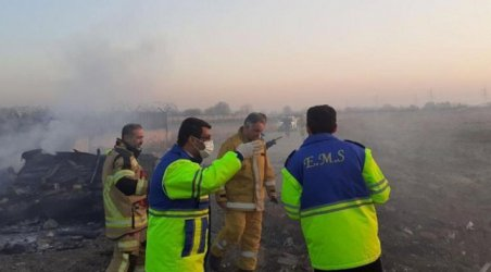 Украински пътнически самолет се разби в Иран: всички 176 души на борда загинаха