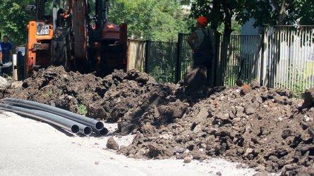 Новият водопровод на Свищов бил от тръби за поливни системи