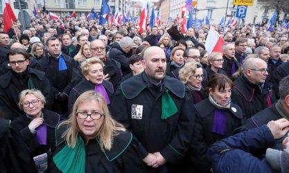Български съдии участваха в Марщ за защита на справедливостта във Варшава