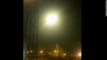 Видео показва ракетния удар по украинския самолет край Техерен