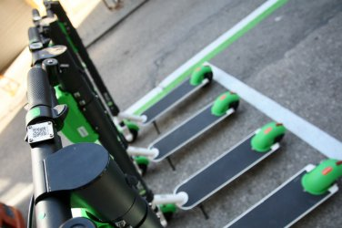 Правилата за движение с тротинетките като тези за велосипедите