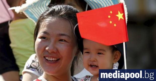 Нивото на раждаемостта в Китай е спаднало до най-ниското си