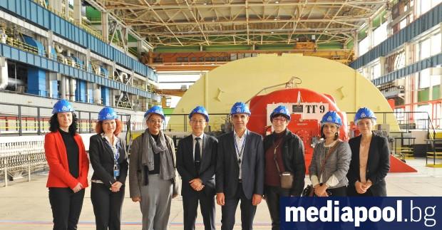 Мисия на Агенцията за ядрена енергия (АЯЕ) към Организацията за