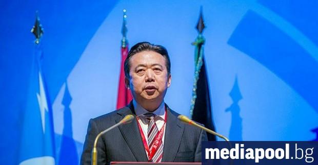Бившият шеф на Интерпол, китаецът Мън Хунвей беше осъден в