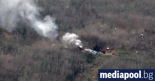 По първоначална информация причина за катастрофата с хеликоптер, при която