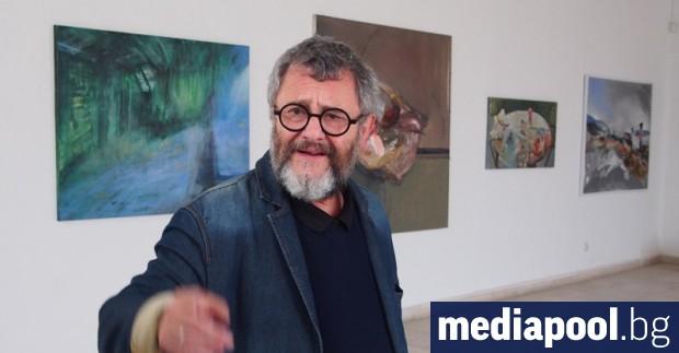 Големият български художник Андрей Даниел е починал тази нощ на