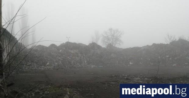 Започнало е разследване на отпадъци, разположени на площадка в ТЕЦ