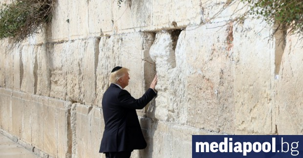 Мирният план за Близкия изток, оповестен вчера от президента Доналд