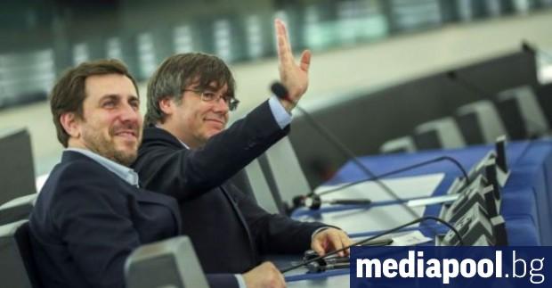 Европейският парламент е получил искането на Испания за сваляне на