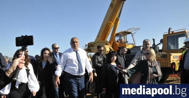 Две месеца след като премиерът Бойко Борисов провери на място