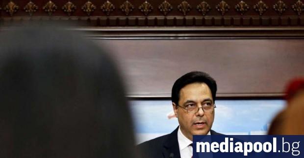 Ливанският премиер Хасан Диаб сформира ново правителство. В реч малко