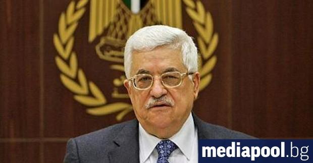 Палестинският президент Махмуд Абас обяви в събота скъсването на всички