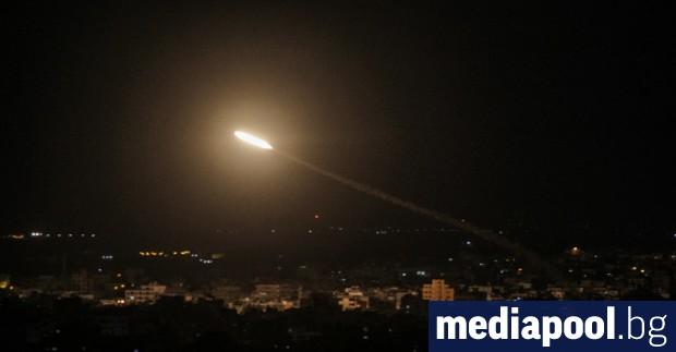 Израелските въоръжени сили нанесоха въздушни удари по обекти на Хамас