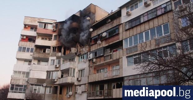 Достъпът до 14 апартамента в жилищния блок в квартал