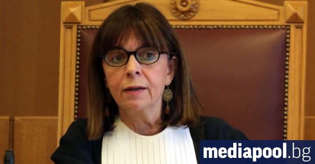 За първи път в историята на Гърция жена стана президент